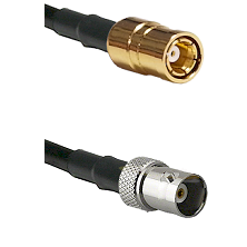 SMB Female on RG58C/U to BNC Female Cable Assembly