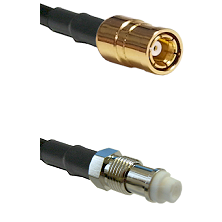 SMB Female on RG58C/U to FME Female Cable Assembly