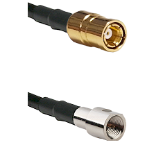 SMB Female on RG58C/U to FME Male Cable Assembly