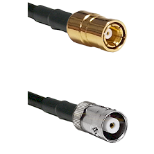 SMB Female on RG58C/U to MHV Female Cable Assembly