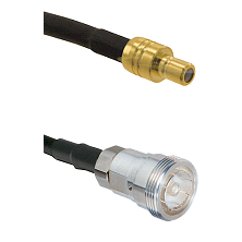 SMB Male on RG142 to 7/16 Din Female Cable Assembly