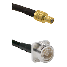SMB Male on RG142 to 7/16 4 Hole Female Cable Assembly