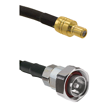 SMB Male on RG142 to 7/16 Din Male Cable Assembly