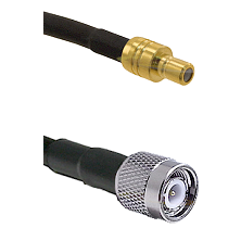 SMB Male On RG400 To TNC Male Connectors Coaxial Cable