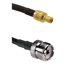 SMB Male On RG400 To UHF Female Connectors Coaxial Cable