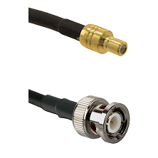 SMB Male on RG58C/U to BNC Male Cable Assembly