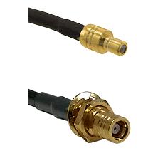 SMB Plug On RG58C/U To SMB Jack Bulkhead Connectors Cable Assembly