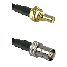 SMB Male Bulkhead on RG142 to C Female Cable Assembly