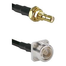 SMB Male Bulkhead on RG58C/U to 7/16 4 Hole Female Cable Assembly