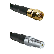 SMC Female on LMR-195-UF UltraFlex to QMA Female Cable Assembly