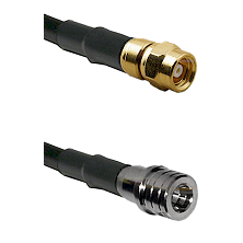 SMC Female on LMR-195-UF UltraFlex to QMA Male Cable Assembly