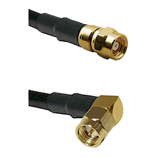 SMC Female on LMR-195-UF UltraFlex to SMA Right Angle Male Cable Assembly