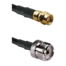 SMC Female on LMR-195-UF UltraFlex to UHF Female Cable Assembly