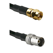 SMC Female on RG142 to BNC Female Cable Assembly