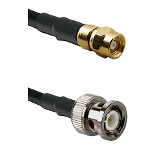 SMC Female on RG142 to BNC Male Cable Assembly