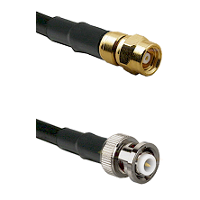 SMC Female on RG142 to MHV Male Cable Assembly