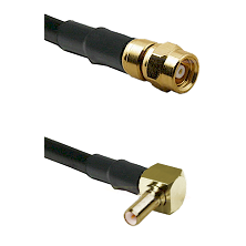SMC Female on RG316 to SSLB Right Angle Male Cable Assembly