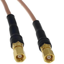 SMC Female on RG316 to SMC Female Cable Assembly