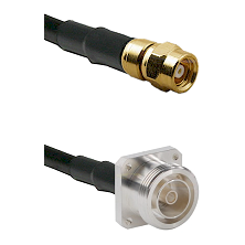 SMC Female on RG400 to 7/16 4 Hole Female Cable Assembly