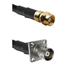 SMC Female on RG58C/U to C 4 Hole Female Cable Assembly