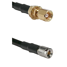 SMC Female Bulkhead on LMR100 to 10/23 Male Cable Assembly