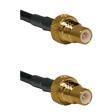 SMC Plug on RG142 to SMC Plug Connectors Cable Assembly