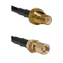 SMC Plug To SMC Bulkhead Jack Connectors RG178 Cable Assembly