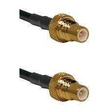 SMC Plug On RG400 To SMC Plug Connectors Coaxial Cable