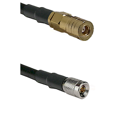 SSLB Female on LMR100 to 10/23 Male Cable Assembly