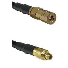 SSLB Female on LMR100/U to MMCX Male Cable Assembly