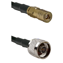 SSLB Female on LMR100 to N Male Cable Assembly