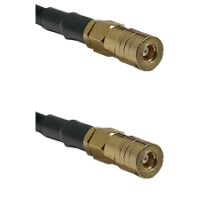 SSLB Female on RG188 to SSLB Female Cable Assembly