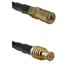 SSLB Female on RG316 to MCX Male Cable Assembly