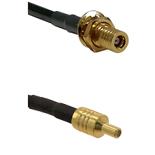 SSLB Female Bulkhead on RG188 to SSLB Male Cable Assembly