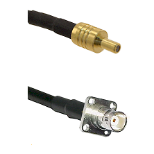 SSLB Male on LMR100 to BNC 4 Hole Female Cable Assembly