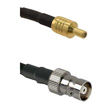 SSLB Male on LMR100 to C Female Cable Assembly