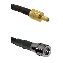 SSLB Male on LMR100 to QMA Male Cable Assembly