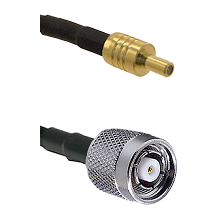 SSLB Male on LMR100 to TNC Reverse Polarity Male Cable Assembly