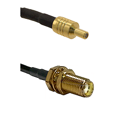 SSLB Male on LMR100 to SMA Female Bulkhead Cable Assembly