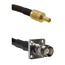SSLB Male on LMR100 to TNC 4 Hole Female Cable Assembly