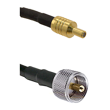 SSLB Male on LMR100 to UHF Male Cable Assembly