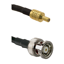 SSLB Male on LMR195 to BNC Reverse Polarity Male Cable Assembly