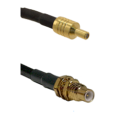 SSLB Male on RG188 to SSMC Male Bulkhead Cable Assembly