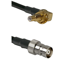 SSLB Male Bulkhead on LMR100 to C Female Cable Assembly