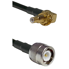SSLB Male Bulkhead on LMR100 to C Male Cable Assembly