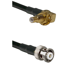 SSLB Male Bulkhead on RG223 to MHV Male Cable Assembly