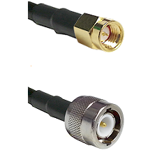 SSMA Male on LMR100 to C Male Cable Assembly
