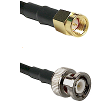 SSMA Male on RG316 to BNC Male Cable Assembly