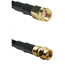 SSMA Male on RG316DS Double Shielded to SMC Female Cable Assembly