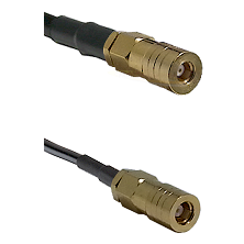 SSMB Female on LMR100 to SLB Female Cable Assembly